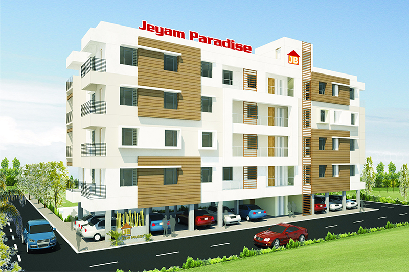 Jeyam Builders Paradise Apartment, Trichy